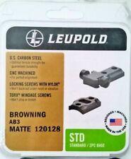 Leupold Browning Ab3 Matte 2Pc Base 120128 New