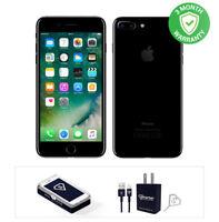 Apple iPhone 7 Plus - 128GB - Jet Black- Fully Unlocked
