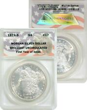 CollecTons Keepers #17 1878-S Morgan Silver Dollar BU