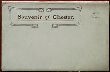 Chester, Souvenir of Chester Letter Card.  Sargent Bros.