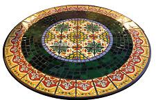 """24"""" Marble Granite Top Coffee Table Pietradure Inlay Marquetry Arts Decorative"""