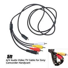 HDR-PJ660 DKKPIA HDR-PJ660E Camcorder Camera AV A//V Audio Video RCA TV Cable Cord Lead for Sony Handycam Model