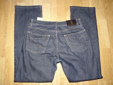 Karl Lagerfeld Smart diseñador azul lavado oscuro de corte recto Jeans Wear w30/30