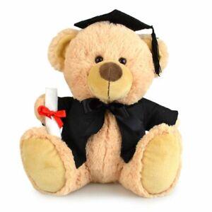My Buddy Bear 23cm Buddy Graduation Bear Kids Soft Plush Stuffed Toy Brown 3y+