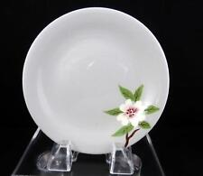 """WEIL WARE CALIFORNIA POTTERY BRENTWOOD DOGWOOD ON GRAY 6 1/8"""" BREAD & BUTTER"""