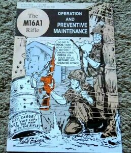 Will Eisner 1969 Vietnam M16A1 Rifle Operation Maintenance Manual AR-15 AR15
