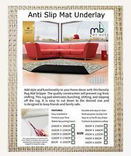 120 x 170 ANTI SLIP RUG MAT GRIPPER GRIP MULTI PURPOSE NON SLIP MAT UNDERLAY