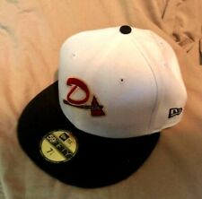 DANVILLE BRAVES MiLB NEW ERA 59FIFTY FITTED ON FIELD 2-TONE HAT/CAP SZ 7-1/4 NWT