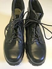 Bates Uniform Footwear Mens Work Boots 8 Wide Black Durashock Steel Toe