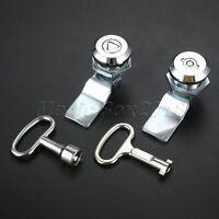 Unique Design Cabinet Box Lock Locking Plate Lock Handle Key for Drawer Cupboard