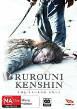 Rurouni Kenshin the Legend Ends NEW R4 DVD