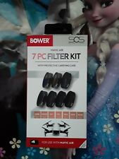 Bower Mavic Air 7 Piece Filter Kit With Case-New In Box