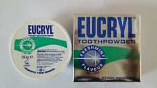 EUCRYL Toothpowder Freshmint Flavour Powerful Stain Removal 50g