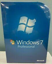 NEW MICROSOFT WINDOWS 7 PROFESSIONAL PRO FULL VERSION FQC-00129 GENUINE RETAIL