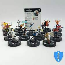 Complete Set 16 Common - DC Rebirth HeroClix Miniature Lot with Cards
