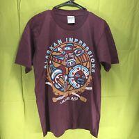 Vintage Purple Alaska Impressions Juneau T-Shirt Men's Size Medium