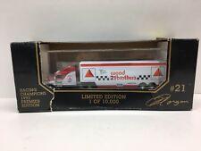 Racing Champions 1993 Premier Morgan Shepherd #21 1:87 Diecast Hauler Transporte