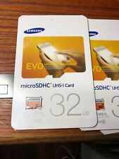1--- SAMSUNG EVO 32GB MICRO SD HC CLASS 10 UHS-1 95MB/S MOBILE MEMORY CARD - NEW