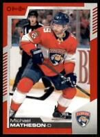 2020-21 UD O-Pee-Chee Red Border #14 Michael Matheson - Florida Panthers