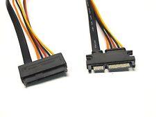 "SAS 29 Pin Female to SATA 22 Pin Male Cable 24"""