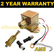ELECTRIC FUEL PUMP UNIVERSAL 12 VOLT FOR PETROL DIESEL CARBURETTOR ENGINES