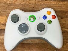* GENUINE Microsoft Xbox 360 Wireless Controller - White - TESTED