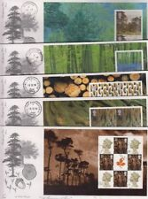 Trees Great Britain Definitive First Day Covers (1971-Now)