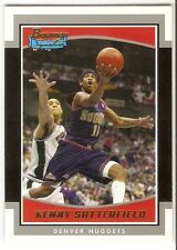KENNY SATTERFIELD SILVER SERIAL #/249 2002-03 BOWMAN SIGNATURE SE-KS DEN NUGGETS