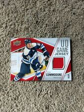 2011-12 Upper Deck Game Jersey Mike Commodore Card #GJ-MC
