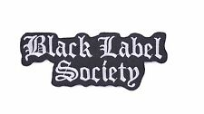 heavy metal patches iron on sew on patches music badges black label society