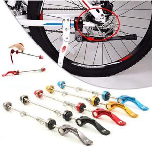 Road Bike Wheel MTB Quick Release Skewers Locking Security Anti Theft Skewer Set