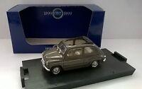 BRUMM 1:43 AUTO DIE CAST FIAT 600D TRASFORMABILE APERTA 1960 VERDE  ART R317-02