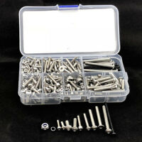 1Set Stainless Steel Screw Kit For 1/7 RC Car Traxxas UDR Unlimited Desert Racer
