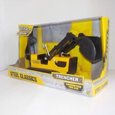 Tonka Steel Classics TRENCHER #92534 with Backhoe NIB