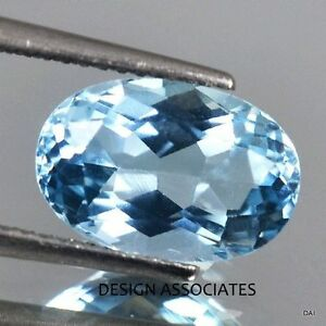 AQUAMARINE 11X9  MM OVAL CUT OUTSTANDING BLUE COLOR ALL NATURAL
