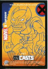 Marvel Masterpieces 2007 Subcast Chase Card #4 Wolverine