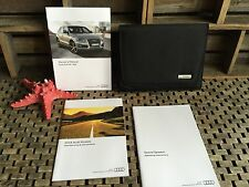 2016 AUDI Q5 Q5S OWNERS MANUAL + SOUND/AUDIO SYSTEM BOOK (OEM NEW SET) FAST SHIP