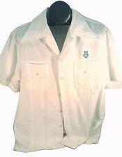 Vintage Waltah Clarke'S The Hawaiian Shop Tropical White Shirt Free Shipping!