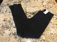 New J Brand Skinny Leg Mid-Rise Jeans 811 Noir Brown Double Washed 26 NWT