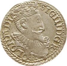 Sigismund III., Dreigröscher 1597 IF Olkusz, Gumowski 1054