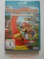 Paper Mario: Color Splash Nintendo Wii U NEU
