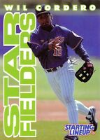 1996  WILL CORDERO - Starting Lineup Card - MONTREAL EXPOS