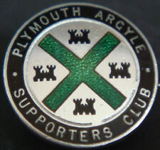 More details for plymouth argyle fc vintage supporters club badge maker h w miller b'ham 20mm dia