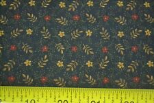 By 1/2 Yd, Floral on Dark-Navy, Quilting, Kansas Troubles Quilters, Moda, M7081