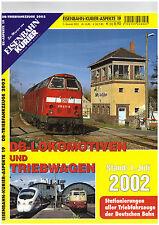 Eisenbahn Kurier Aspekte 19, Lokomotiven / Triebwagen 2002 DB Deutsche Bahn