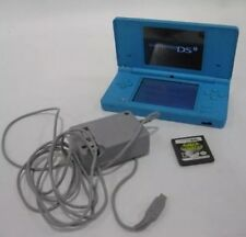 Nintendo DSi System Blue with Space Invaders Game And Charger, No Stylus