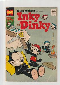 Felix's Nephews Inky And Dinky #1 VG 1957 Harvey Comic