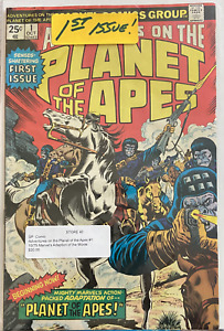 Adventures on the Planet of the Apes #1 Oct 1975 1st Issue  CLASSIC!