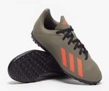 adidas X 19.4 TF Football TURF Trainers Legacy Green / Orange UK8 £42 #CW107
