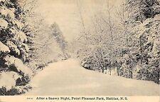BR44386 After a snowy night point plesant park halifax canada